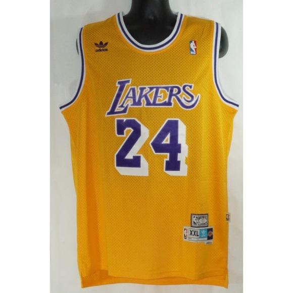 Kobe Bryant Los Angeles Lakers Adidas Jersey XXL